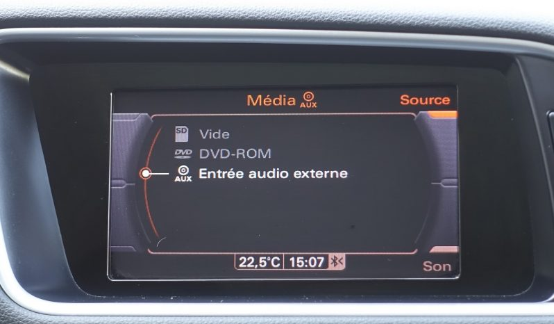 AUDI Q5 2.0L TDI 136CH PHASE 2 complet