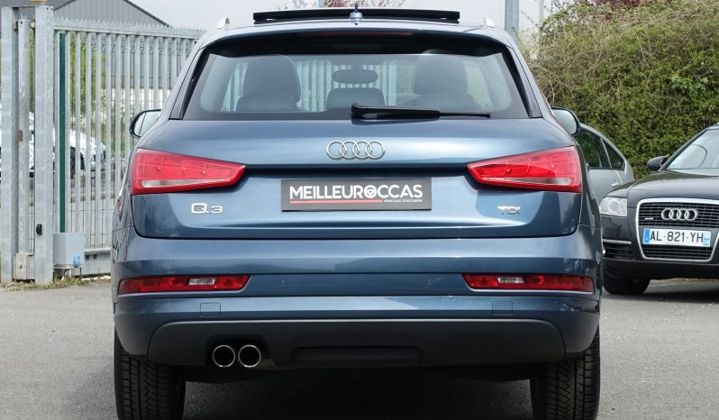 AUDI Q3 2.0L TDI 150CH S-LINE PHASE 2 complet