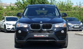 BMW X3 2.0L 20DA 190 CH X-DRIVE BVA F25 PHASE 2 complet