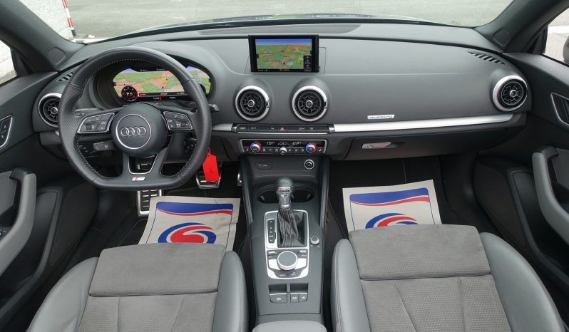 AUDI A3 CABRIOLET 2.0 TDI 184 CH QUATTRO S-TRONIC S-LINE complet
