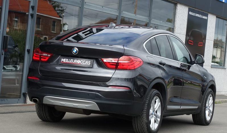 BMW X4 2.0L 20 DA X-DRIVE BVA X-LINE complet