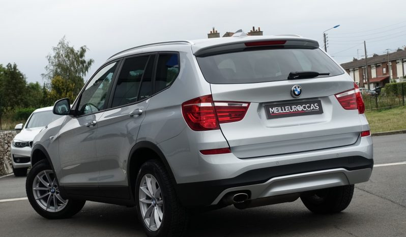 BMW X3 2.0L 18D S-DRIVE F25 PHASE 2 complet