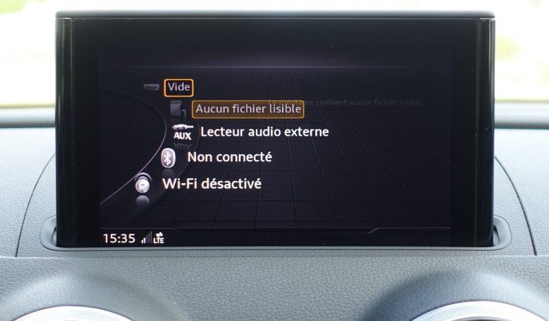 AUDI A3 BERLINE 1.6L TDI 116 CH S-LINE complet